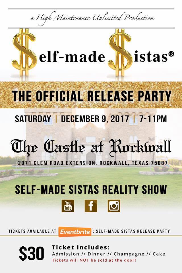 Self-Made Sistas Release Party - Dec 9th