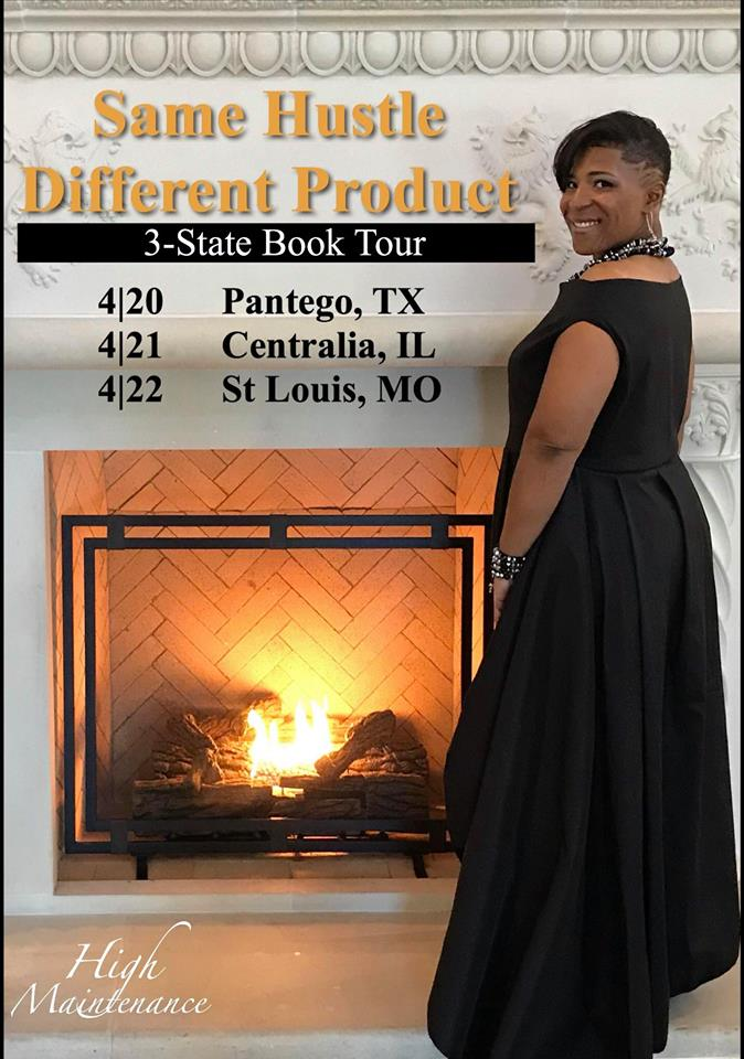 Chef Meleka's 3 State Book Tour - April 20-22